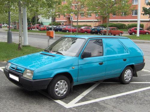 Skoda Forman 1990 - 1995
