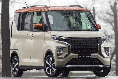 В Японии представили серийные Mitsubishi eK Space и eK Cross Space