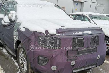В Москве засняли новый Kia Mohave