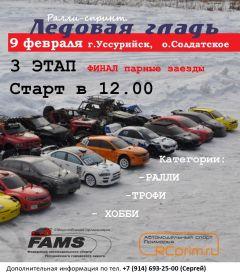 Автомотоспорт в Приморье: анонс на 8-9 февраля