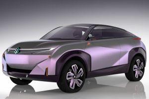 Suzuki выпустит серийный кроссовер с дизайном как у концепта Futuro-e