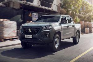 Peugeot выпустила рамный пикап с брутальным дизайном