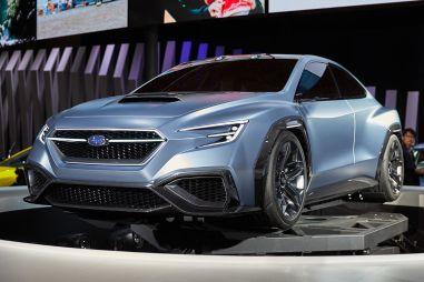 Следующее поколение Subaru WRX STI получит новый 2,4-литровый «оппозитник» мощностью 400 л.с.