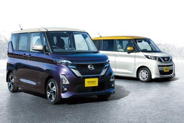 В Японии представили практичный кей-кар Nissan Roox