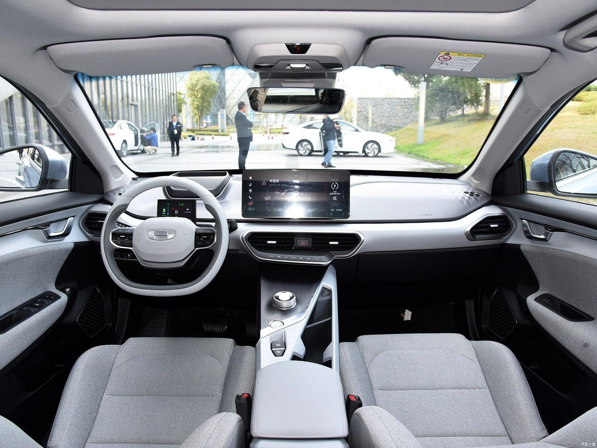 В Белоруссии засняли новейший электромобиль Geely. Он будет проходить сертификацию