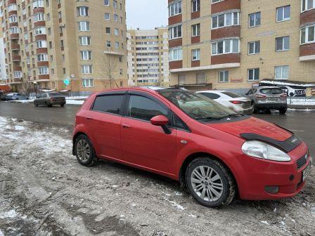 Fiat Punto 2008 - отзыв владельца