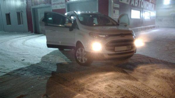 Ford EcoSport 2017 - отзыв владельца