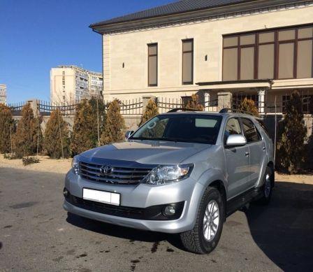 Toyota Fortuner 2014 - отзыв владельца