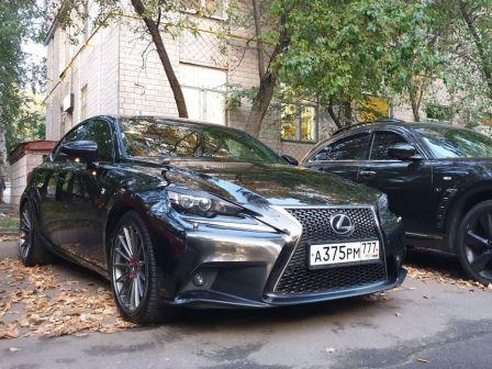 Lexus IS250 2013 - отзыв владельца