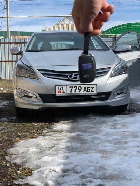 Hyundai Accent 2014 - отзыв владельца