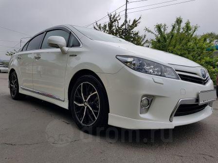 Toyota Sai 2012 - отзыв владельца