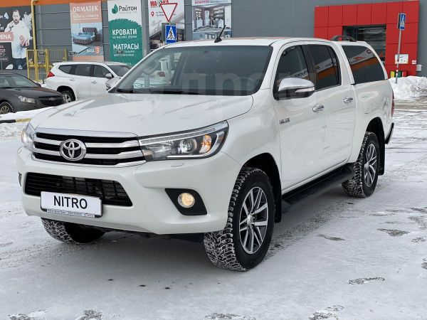 Toyota Hilux Pick Up, 2016 год, 2 049 900 руб.