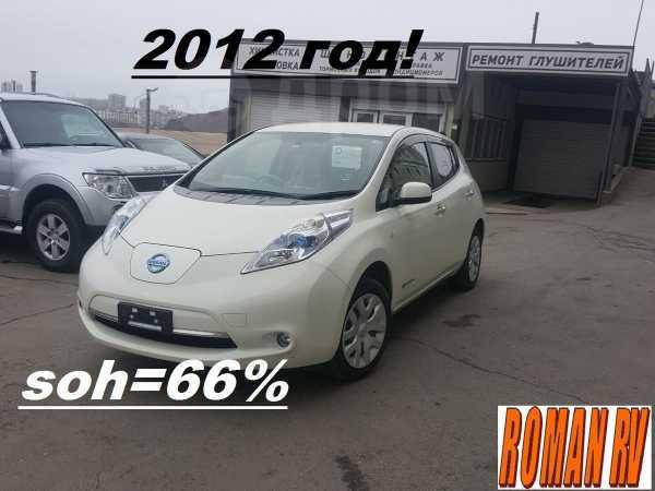 Nissan Leaf, 2012 год, 295 000 руб.