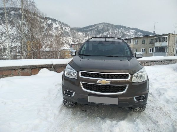 Chevrolet TrailBlazer, 2013 год, 1 300 000 руб.