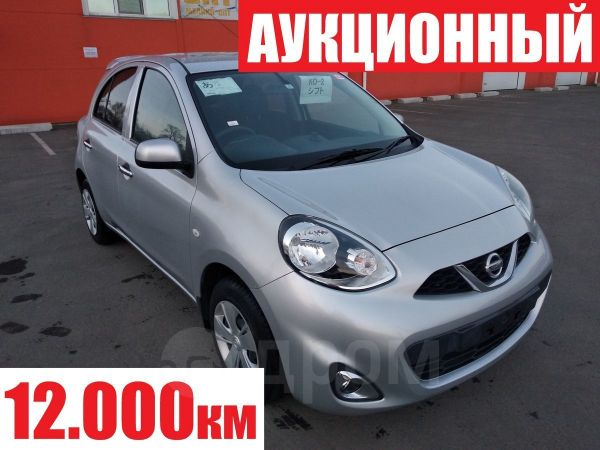Nissan March, 2014 год, 408 000 руб.