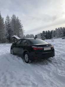 Кызыл Corolla 2017