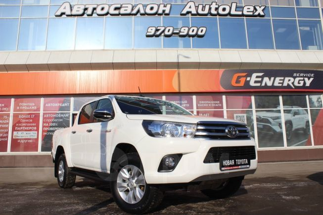 Toyota Hilux Pick Up, 2019 год, 2 524 000 руб.