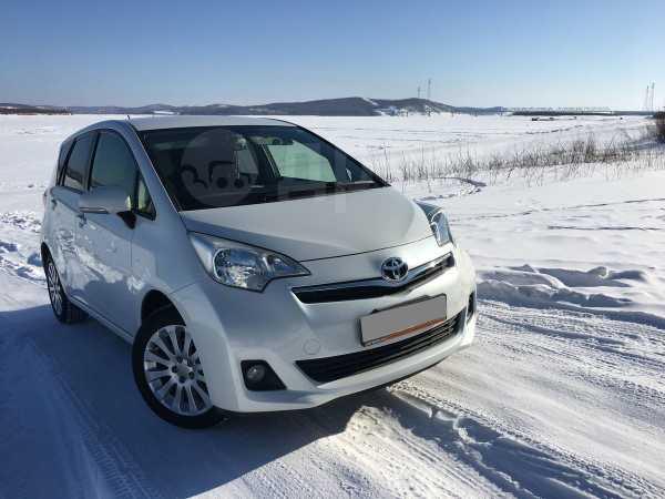 Toyota Ractis, 2013 год, 619 000 руб.