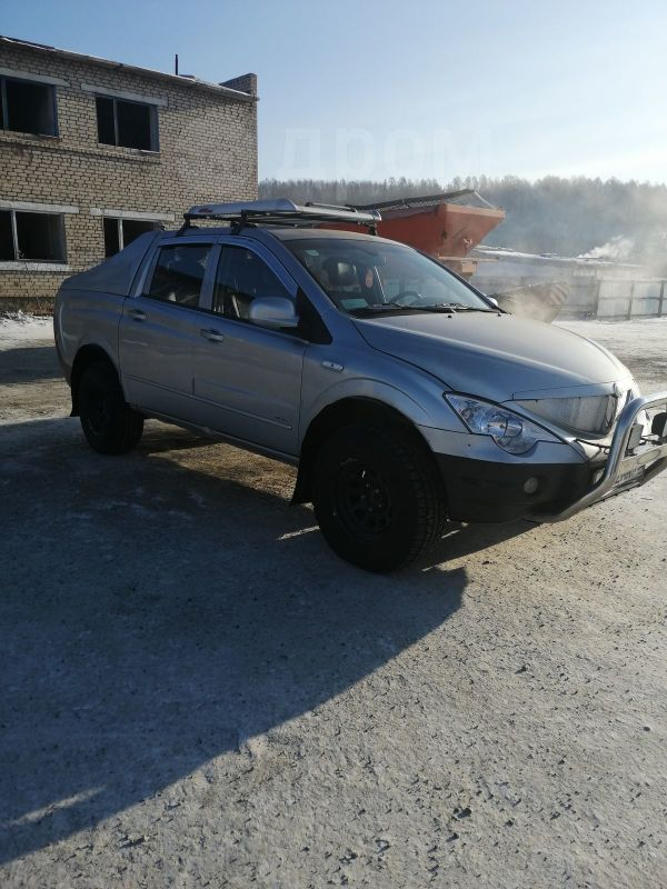 SsangYong Actyon Sports, 2008 год, 335 000 руб.