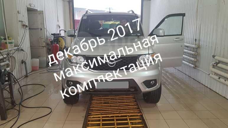 УАЗ Патриот, 2017 год, 780 000 руб.