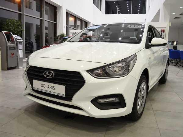 Hyundai Solaris, 2020 год, 849 000 руб.