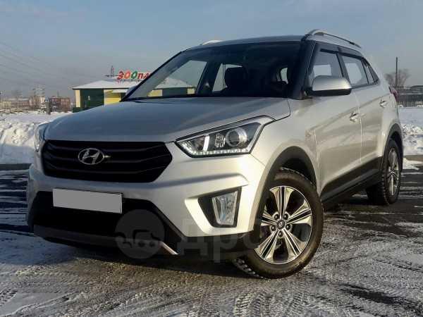 Hyundai Creta, 2017 год, 918 000 руб.