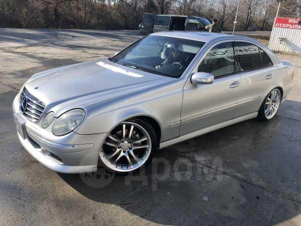 Mercedes-Benz E-Class, 2002 год, 457 000 руб.