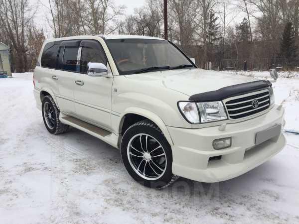 Toyota Land Cruiser Cygnus, 1999 год, 550 000 руб.