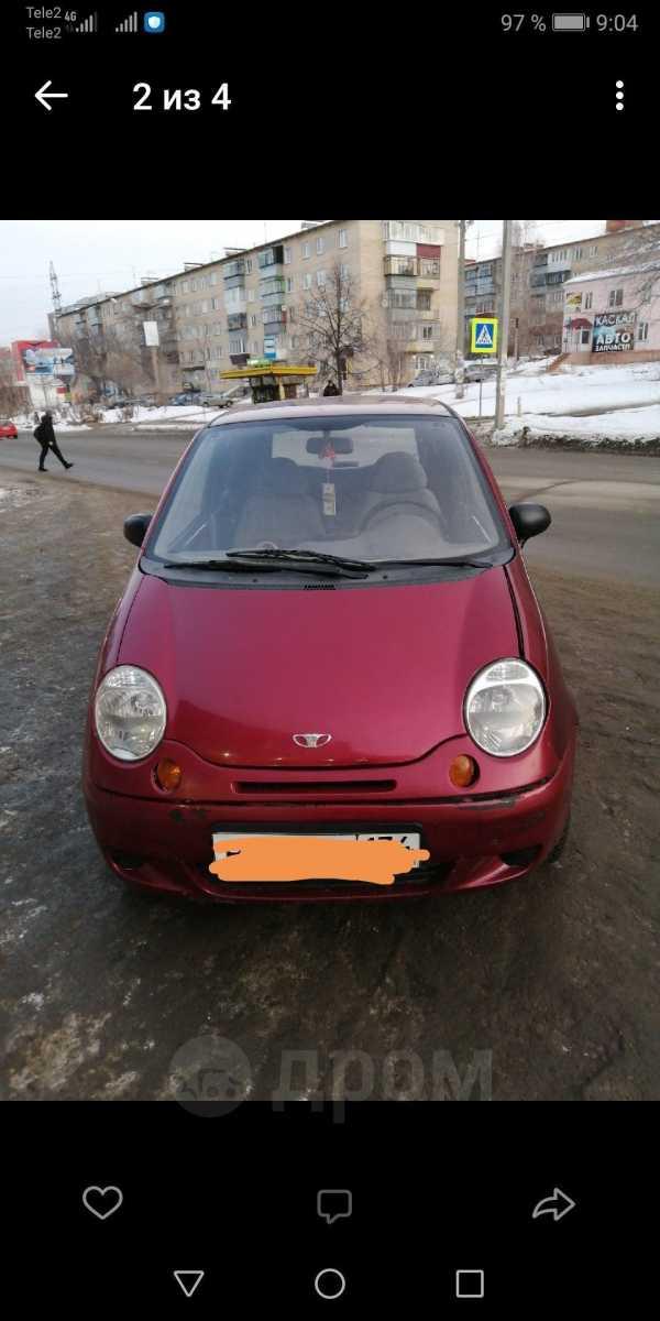 Daewoo Matiz, 2011 год, 100 000 руб.