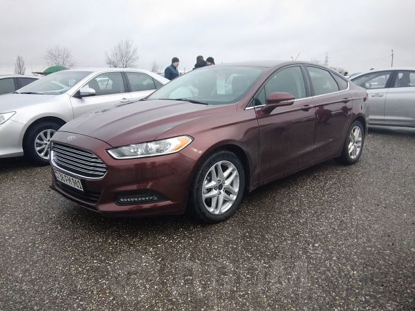 Ford Fusion, 2016 год, 730 000 руб.