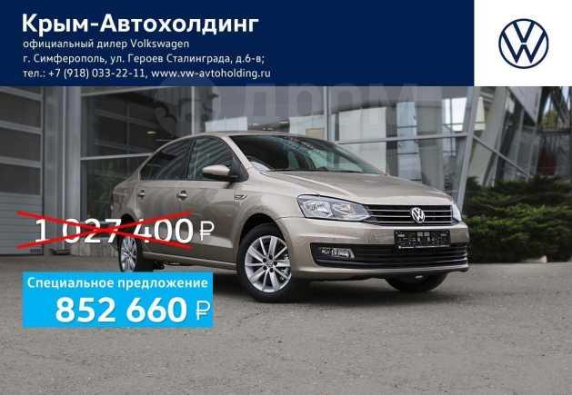 Volkswagen Polo, 2019 год, 987 400 руб.