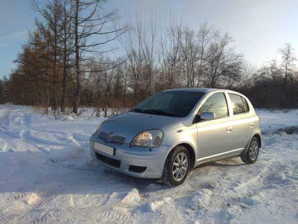 Toyota Yaris, 2001 год, 205 000 руб.