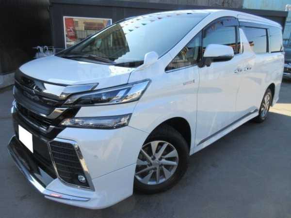 Toyota Vellfire, 2016 год, 1 418 000 руб.
