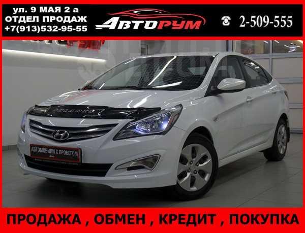 Hyundai Solaris, 2016 год, 567 000 руб.