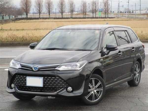 Toyota Corolla Fielder, 2016 год, 509 000 руб.