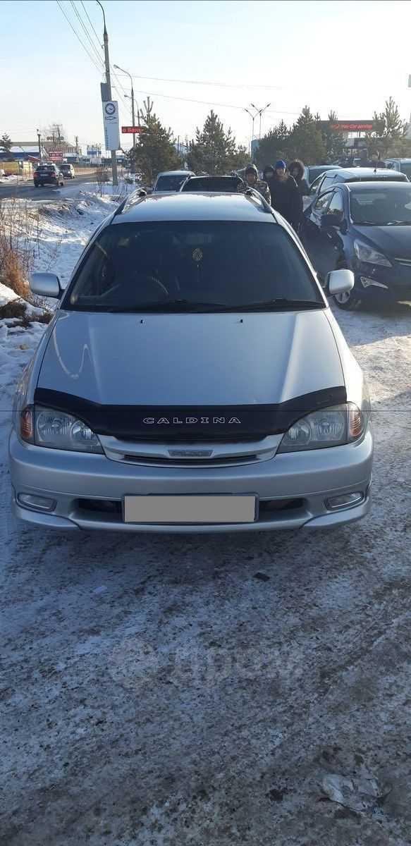 Toyota Caldina, 2001 год, 420 000 руб.