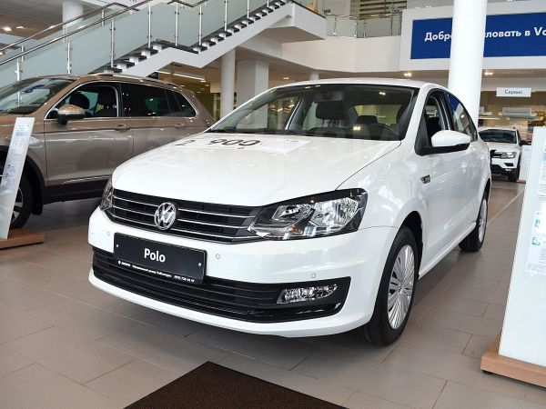 Volkswagen Polo, 2019 год, 965 800 руб.