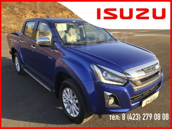 Isuzu D-MAX, 2019 год, 2 615 000 руб.
