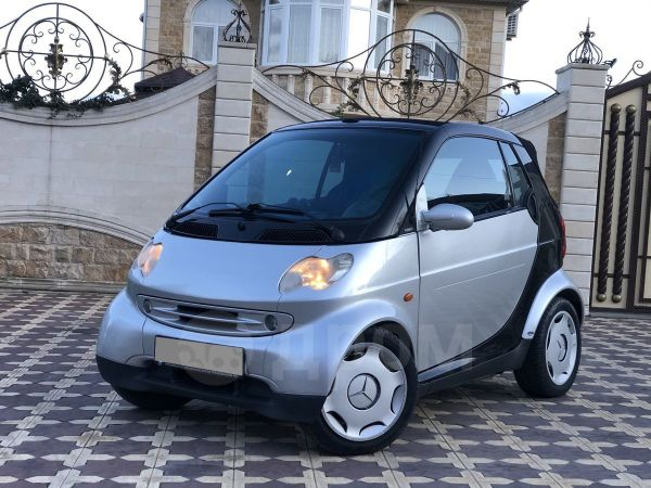 Smart Fortwo, 2002 год, 250 000 руб.
