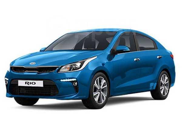 Kia Rio, 2019 год, 1 024 900 руб.