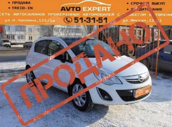 Opel Corsa, 2012 год, 399 998 руб.