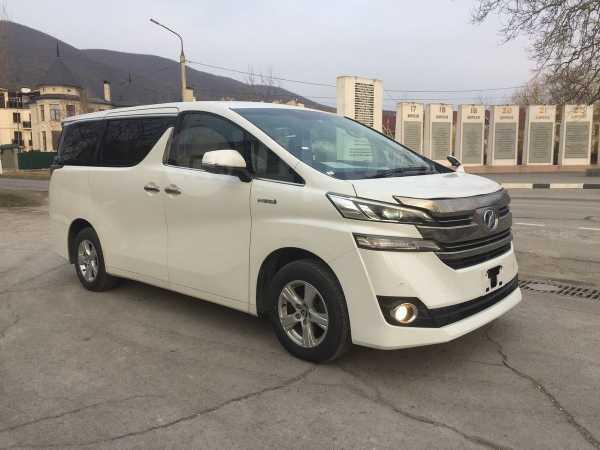 Toyota Vellfire, 2016 год, 2 500 000 руб.