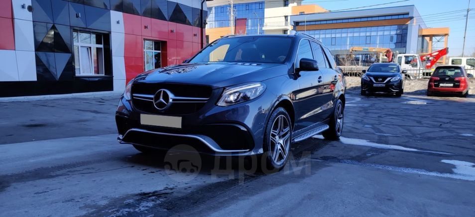 Mercedes-Benz GLE, 2016 год, 3 380 000 руб.