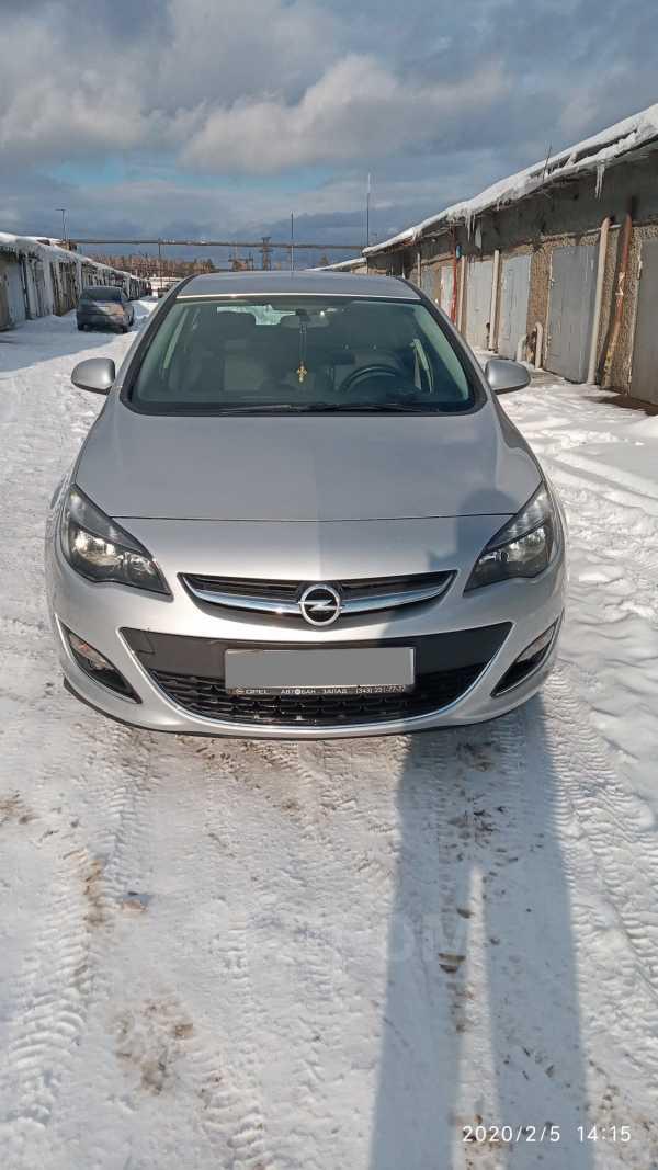 Opel Astra, 2014 год, 540 000 руб.