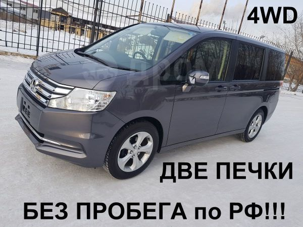 Honda Stepwgn, 2014 год, 1 055 000 руб.
