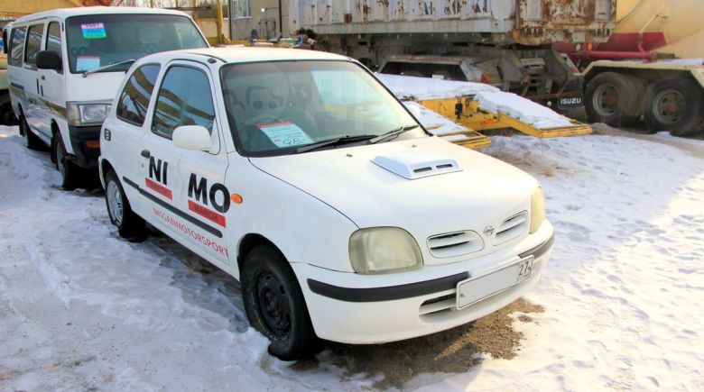 Nissan March, 1999 год, 98 000 руб.