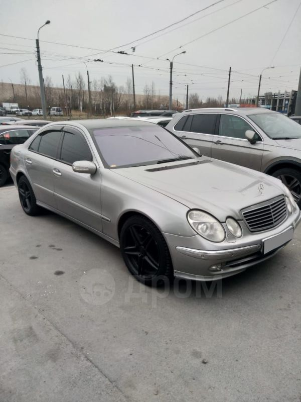 Mercedes-Benz E-Class, 2002 год, 369 000 руб.