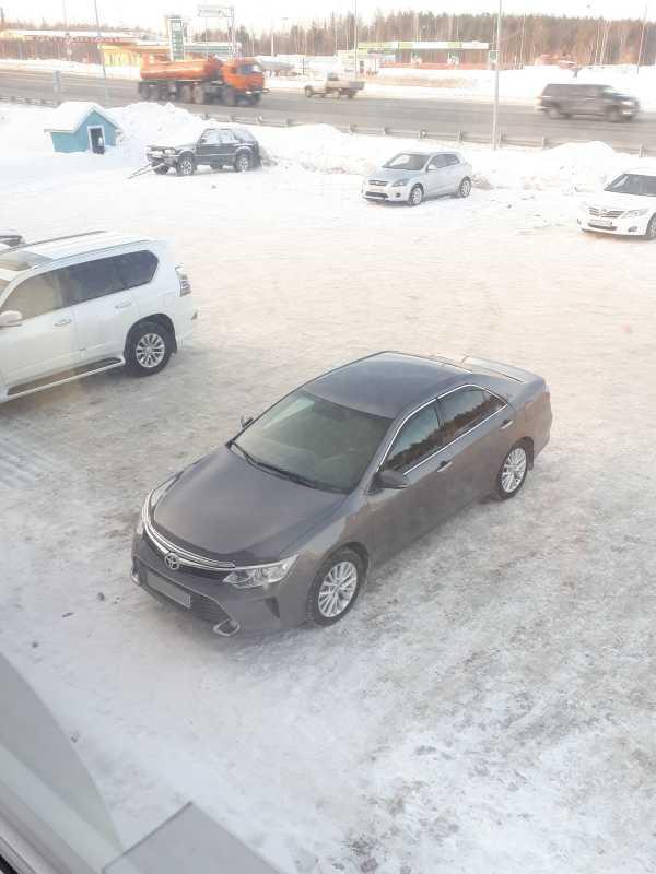 Toyota Camry, 2015 год, 1 300 000 руб.
