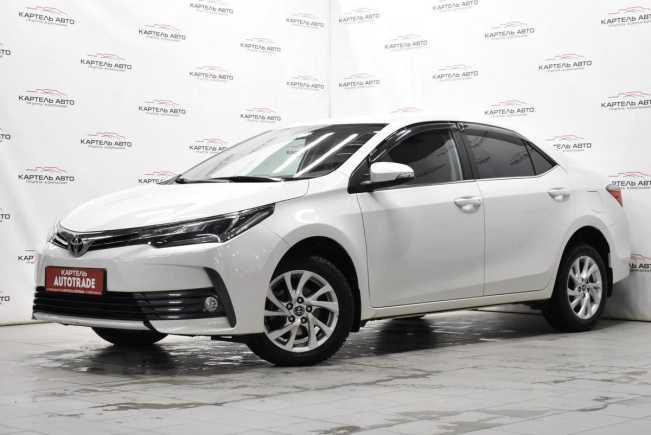 Toyota Corolla, 2017 год, 1 199 000 руб.