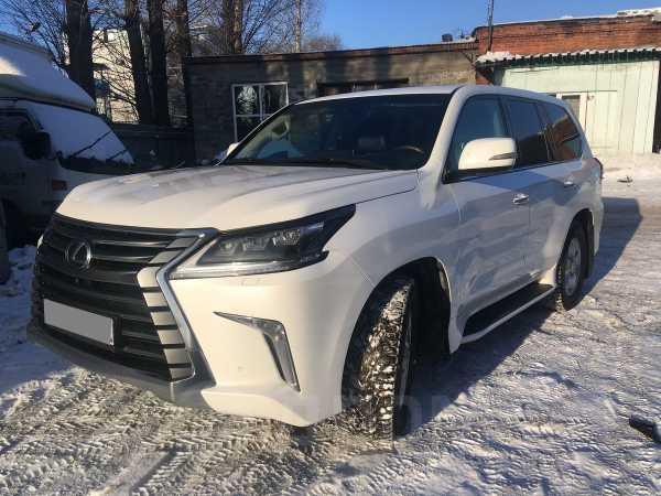 Lexus LX450, 2016 год, 4 290 000 руб.